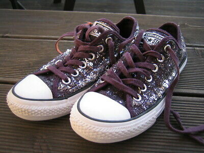 ORIG. CONVERSE CHUCKS All Star Leder low EUR 37 UK 4,5