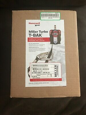 New~Honeywell Miller Twin Turbo T-Back G2 Fall Limiter MFLTC-1/7.5FT~ All-in-one