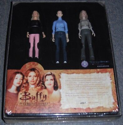 Buffy The Vampire Slayer - Summers Family Album, Action Figure Box Set New (Le)