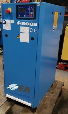 Boge C9 Industrial Screw Air Compressor 8Bar  Excellent condition