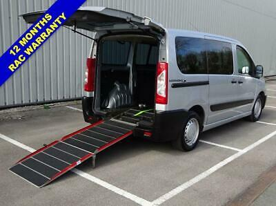 2012 12 Peugeot Expert Tepee 1.6 Hdi Independance Wheelchair Accessible Diesel