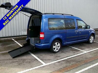 2012 12 Volkswagen Caddy Maxi 1.6 C20 Life Tdi 7 Seat Wheelchair Accessible Fold