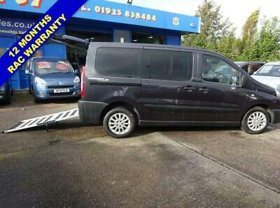 2015 65 Peugeot Expert 2.0 Tepee Comfort L1 Hdi 5D Auto 163 Bhp Wheelchair Acces