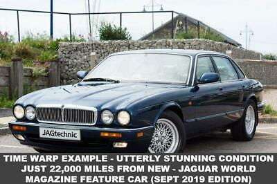 1997 P Jaguar Xj 3.2 6 Executive 4D Auto - Just 22,000 Miles From New