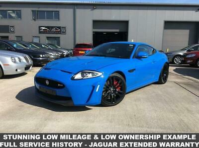 2011 61 Jaguar Xk 5.0 Xkr-S 2D Auto 550 Bhp - French Racing Blue