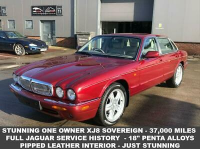 2000 W Jaguar Xj 4.0 Sovereign V8 Swb- One Owner - 37,000 Miles - Fsh