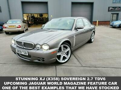 2008 08 Jaguar Xj 2.7 Sovereign V6 4D 204 Bhp Diesel X358