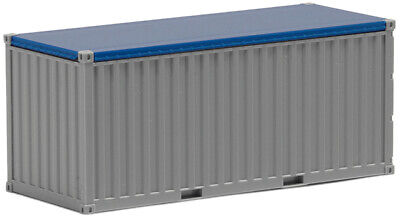 HO Scale Shipping container- 490042- 20ft Open Top - Plain