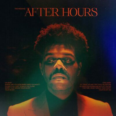 The Weeknd - After Hours - 2020 Album - Brand New CD - FREE SHIPPING