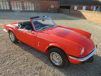 Triumph Spitfire 1500C 1981 Covered 63K Miles From New
