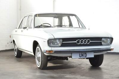 Audi 100 Ls White Saloon 1970 B1 Just 57,000 Miles From New!