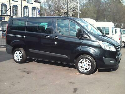Ford Tourneo Custom 300 Trend Swb 9 Seat Minibus Air Con 125 Ps Twin Doors 2014