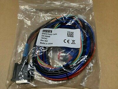 Sepura SRM/G Power Cable Assembly 300-00066