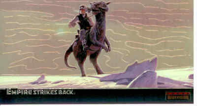 Star Wars - Empire Strikes Back - Widevision - Chrome Subset Chase Card C-2 - NM