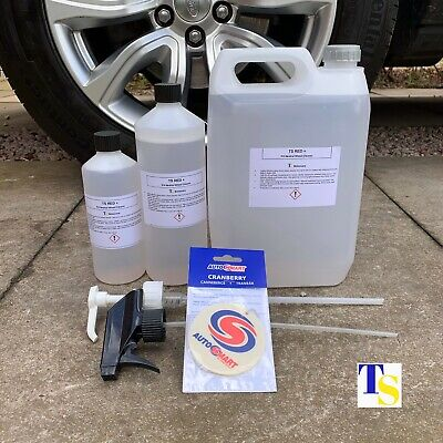 TS Red 7 1L 1 Litre + FREE Autosmart Fresh (car wheel cleaner fallout grime rust