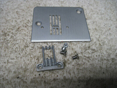Singer 2263 Simple Sewing Machine Parts Needle Throat Plate Feed Dog