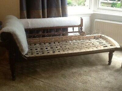 Chaise Longue Re-Upholstery Project