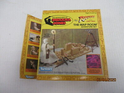 Vintage 1982 Kenner Indiana Jones The Map Room  Set Never Opened In The Box