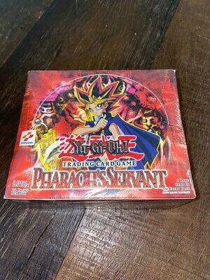 Yugioh Pharaoh's Servant 1st Booster Box 36 Packs Rare