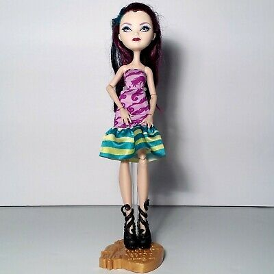 Ever After High Way Too Wonderland High and Raven Queen Doll Mattel 2012