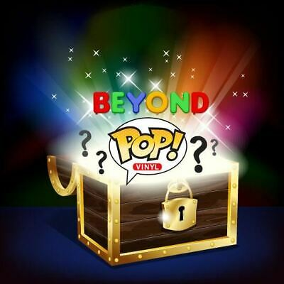 Beyond Mystery Box Activated! Lot of 6 Funko Pop Vinyl Figures (1 Chase OR Exclu