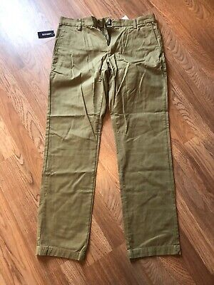 Old Navy Mens Size 32x32 The Classic Khaki Slim Fit Chino Pant