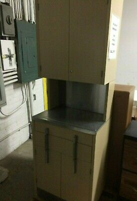 """Used Medical Cabinet/Case - Medical Use, Office 71"""" ht"""