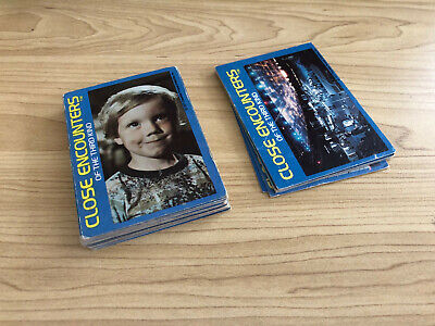 Close Encounters Of The Third Kind - BULK LOT 30 Cards - Wonder Bread 1977