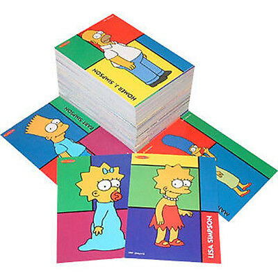 THE SIMPSONS - 'Downunder' Trading Cards Common Set (100) by Tempo #NEW