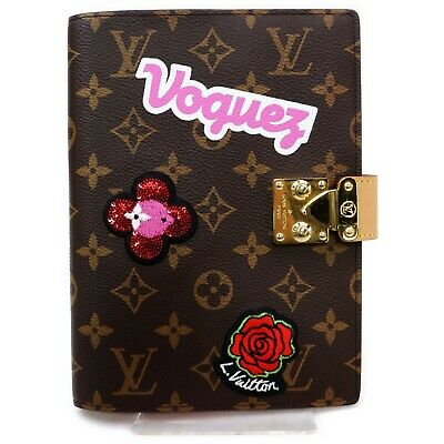 Authentic Louis Vuitton Diary Cover Couverture carnet Paul GI0294 823409
