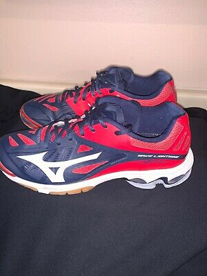 mizuno womens volleyball shoes size 12 homme