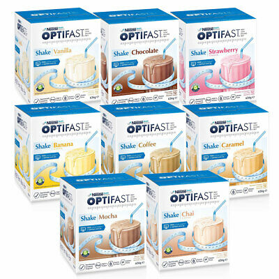 Optifast VLCD Shakes 12 x 53g Sachets Low Calorie Diet for Weight Loss Shake