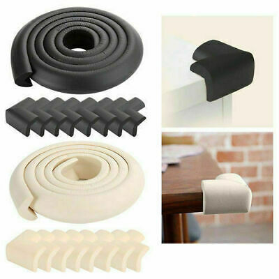 2M Baby Safety Table Desk Edge Guard Strip Soft Foam U Corner Head Protection