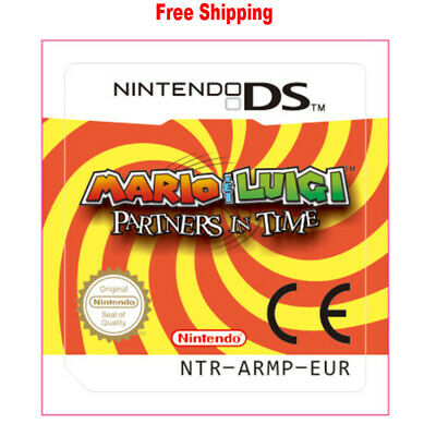 For Nintendo 3DS NDS Lite NDSI NDSXL NDSLL Mario & Luigi Partners in Time