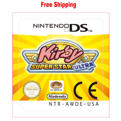 For Nintendo 3DS NDS Lite NDSI NDSXL NDSLL Game Card Kirby Super Star Ultra