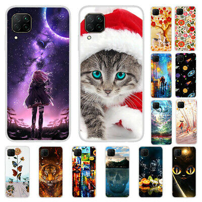 For Huawei P40 P30 Lite P Smart 2020 Painted Soft Silicone Slim TPU Case Cover