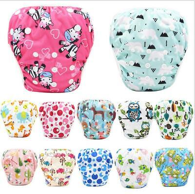 Baby printing swimming trunks Waterproof Cloth Diapers Washable Reusable Diaper