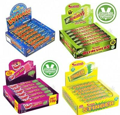 Swizzles FULL SIZE BARS Refresher Sour Wham Vimto Stinger Chewy Sweets FREE POST