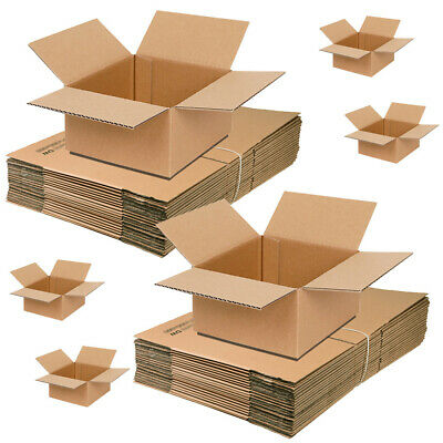 Removal /& SHIPPING Cardboard Boxes 75 x High Grade13x10x12 Postal Mail Packing
