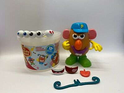 Mr Potato Head 15+ Pieces Storage Bucket & Figure Playskool Hasbro 2012