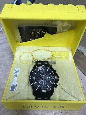 Invicta Men's Pro Diver 50mm Stainless Steel Case Stainles Steel Band