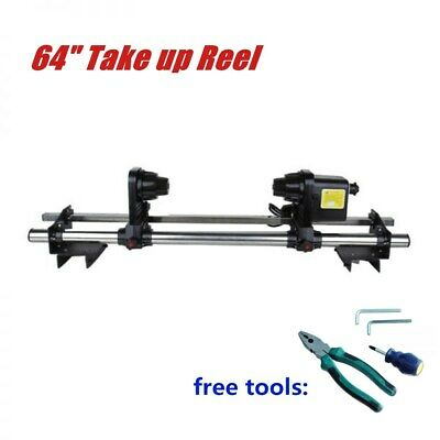 "64"" Automatic Media Take up Reel D64 for Mutoh / Mimaki / Roland / Epson 110V"