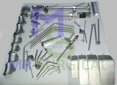 Thompson Retractor Complete Set Stainless Steel Surgical Retractor Instruments
