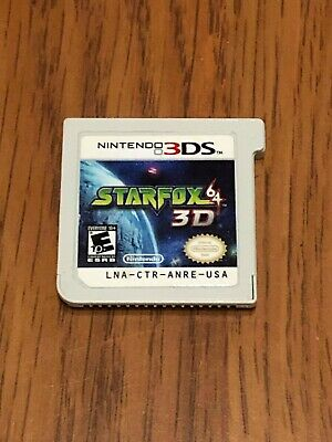 Star Fox 64 3D (Nintendo 3DS, 2011) Cart Only!