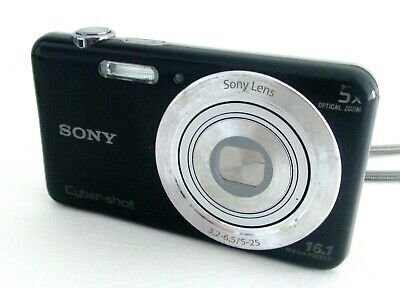 Sony Cybershot 16Mp Dsc-W710 Compact Digital Camera