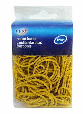Rubber Bands Vibrant Yellow  (120 Ct)