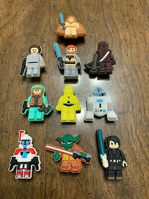 Lego Star Wars 10 pcs Shoe Charms Bracelet Charms