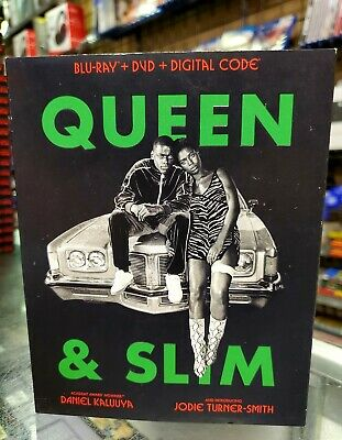 Queen & Slim BluRay + DVD + Digital NEW AUTHENTIC FAST SHIPPING