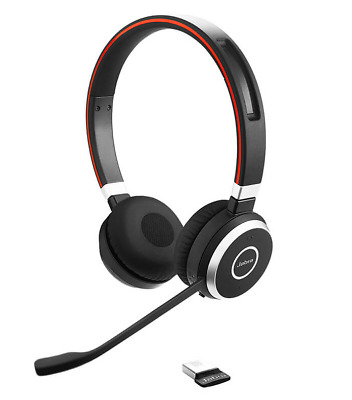 Jabra Evolve 65 Professional wireless headset with amazing sound calls & music
