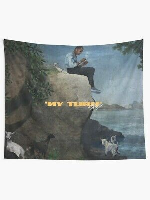 Poster Lil Baby My Turn Wall Tapestry, Dababy Album Wall Tapestry